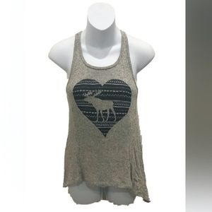 Abercrombie Kids Girls Graphic Racerback Tank Top